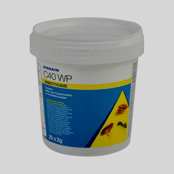 Digrain C40 WP wettable insecticide powder