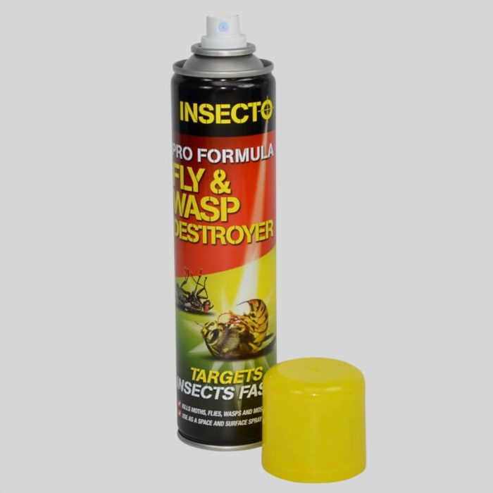 insecto fly and wasp destroyer cap off