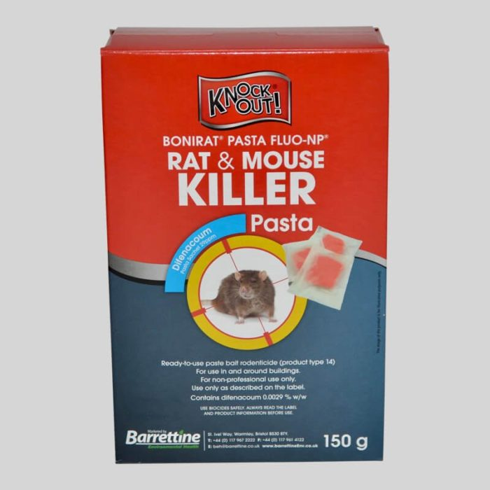 Rat and Mouse Killer Pasta 4