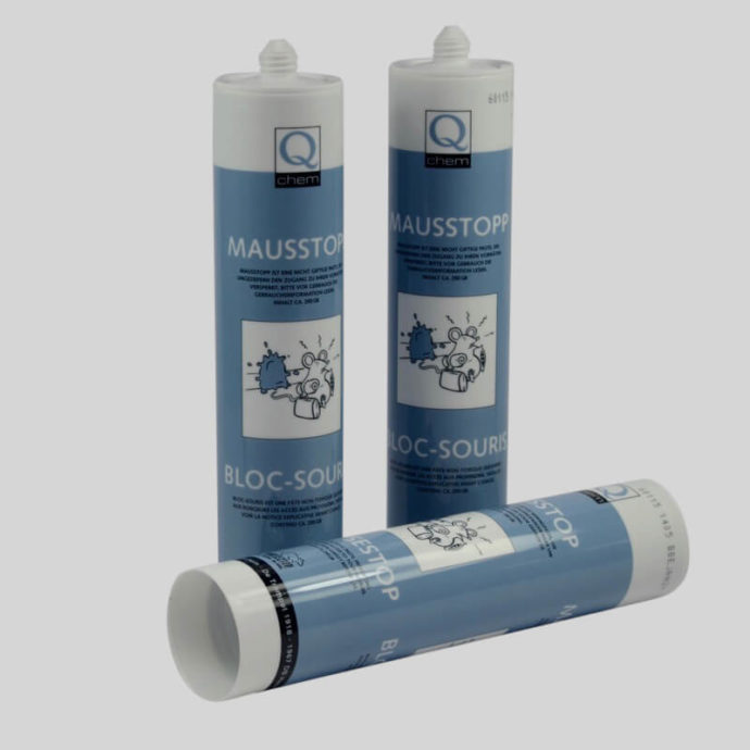 3 tubes of mouse stop proofing paste