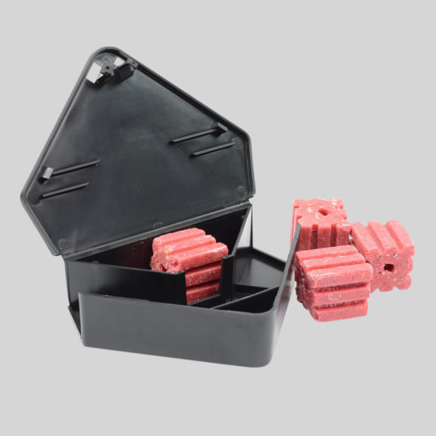 Protecta RTU Mouse Bait Box open