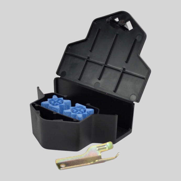 protecta micro mouse bait station with bait inside