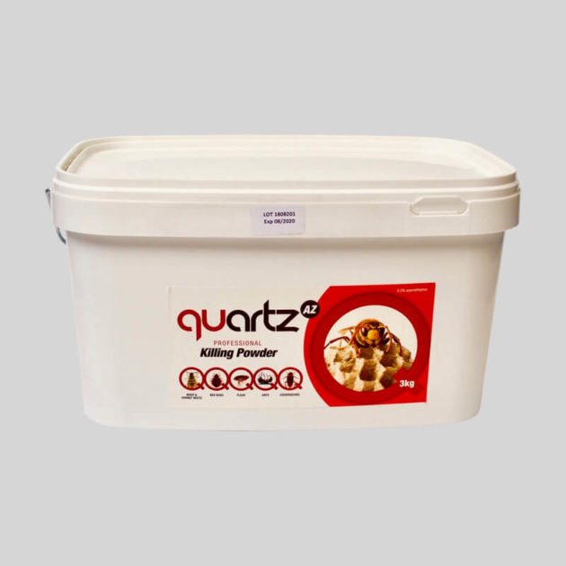 3kg tub of quartz wasp killing powder