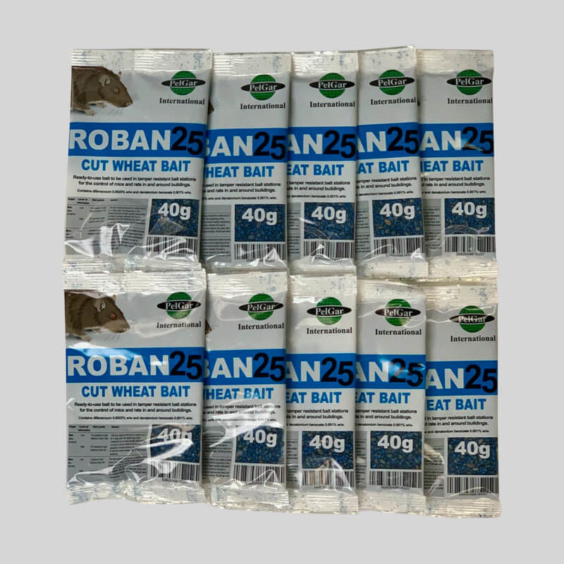 Roban cut wheat mouse poison in sachets