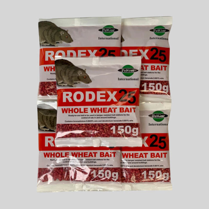 Rodex whole wheat rat poison in sachets