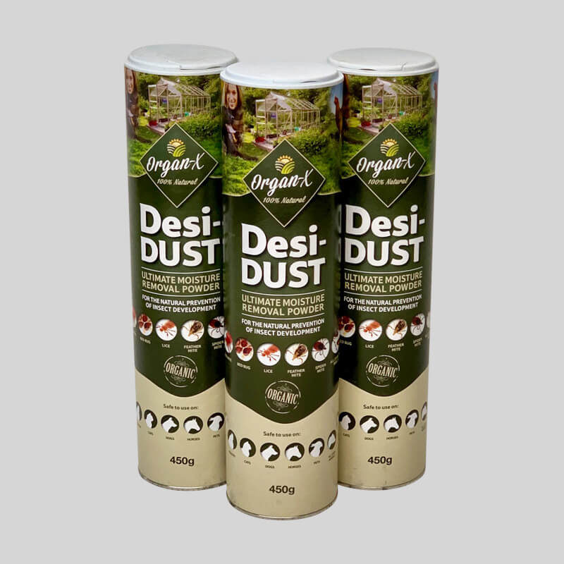 Organ-X Desi-Dust Woodlice Killer Powder 450g